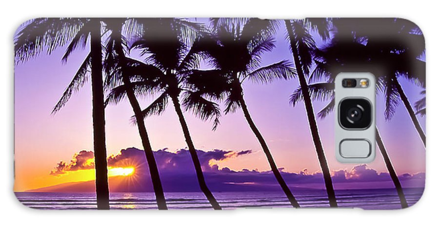 Landscapes Galaxy S8 Case featuring the photograph Lanai Sunset by Jim Cazel