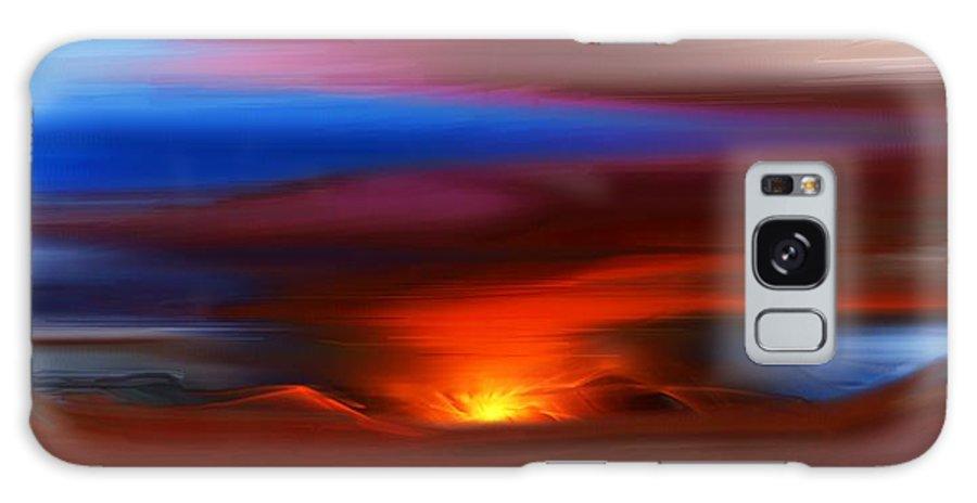 Landscape Galaxy S8 Case featuring the digital art Landscape 081010 by David Lane