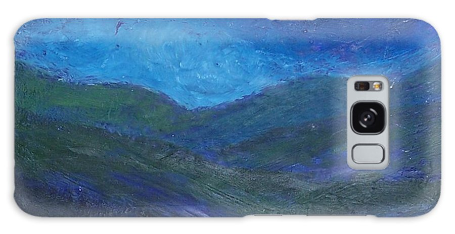 Lanscape Galaxy S8 Case featuring the painting Landscape I by Emily Young