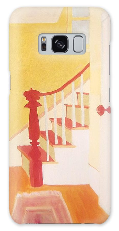 Interior Galaxy S8 Case featuring the painting Lanesville Hallway by Debra Bretton Robinson