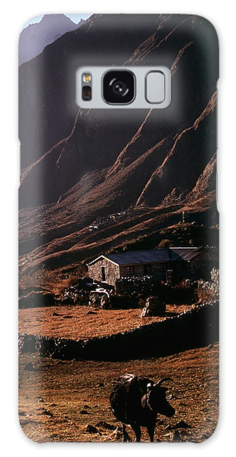 Langtang Galaxy S8 Case featuring the photograph Langtang Village by Patrick Klauss