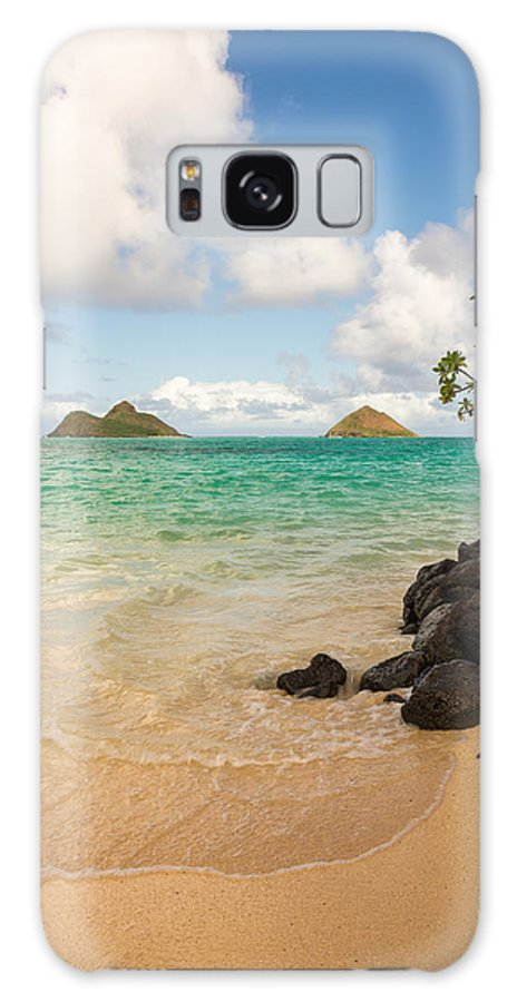 Lanikai Kailua Oahu Hawaii Beach Park Seascape Galaxy S8 Case featuring the photograph Lanikai Beach 1 - Oahu Hawaii by Brian Harig