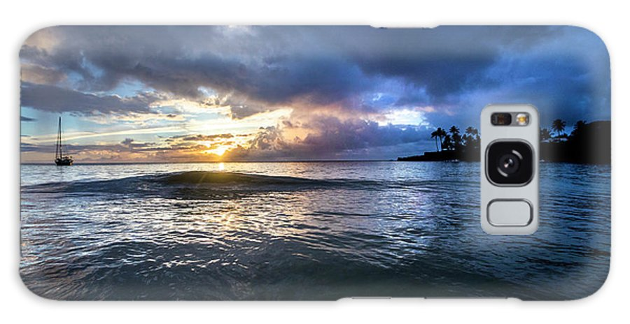 Sunset Galaxy S8 Case featuring the photograph Last Call by Sean Davey