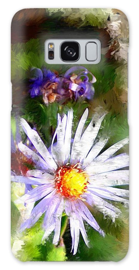 Flower Galaxy S8 Case featuring the photograph Last Rose Of Summer by David Lane