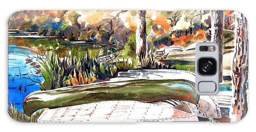 Last Summer In Brigadoon Galaxy S8 Case featuring the painting Last Summer In Brigadoon by Kip DeVore