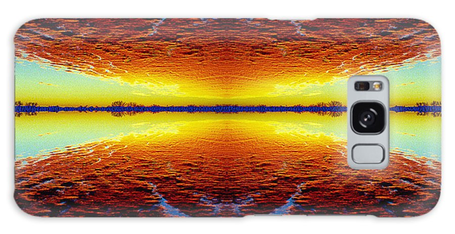 Sunset Galaxy S8 Case featuring the photograph Last Sunset by Nancy Mueller