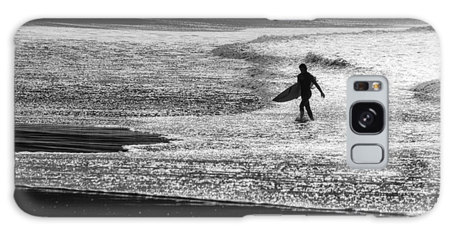 Surfer Galaxy Case featuring the photograph Last wave by Sheila Smart Fine Art Photography