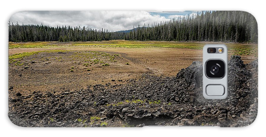 Hand Lake Galaxy S8 Case featuring the photograph Lava Flow At Hand Lake by Belinda Greb