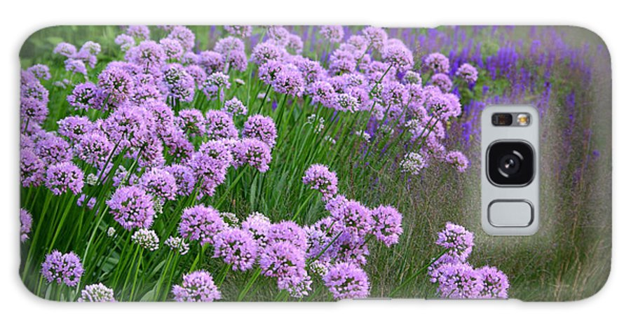 Lavender Galaxy S8 Case featuring the photograph Lavender Field by Linda Mishler