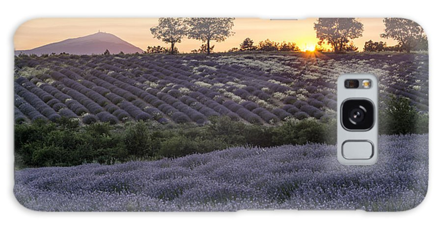 Agrarian Galaxy S8 Case featuring the photograph Lavender Field Provence by Juergen Held