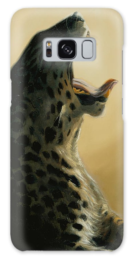 Painting Galaxy S8 Case featuring the painting Lazy Days by Greg Neal