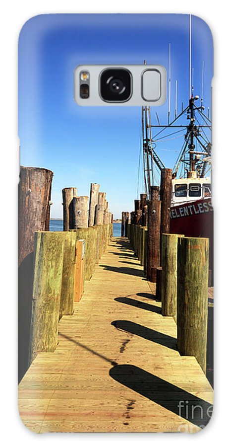 Lbi Down The Dock Galaxy S8 Case featuring the photograph Lbi Down The Dock by John Rizzuto