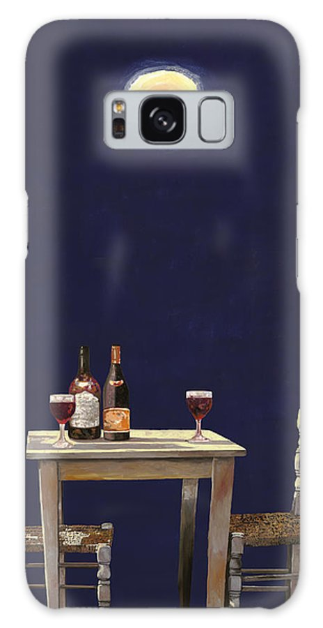 Moon Galaxy Case featuring the painting Le Ombre Della Luna by Guido Borelli