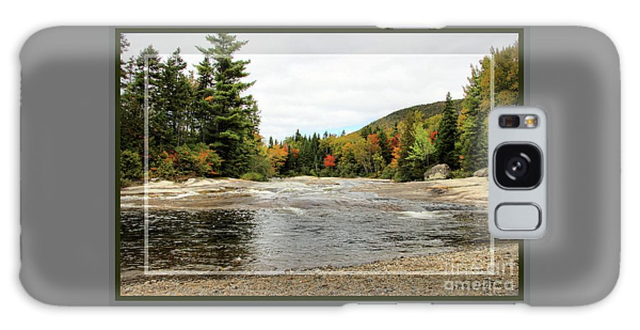 Landscape Galaxy S8 Case featuring the photograph Ledge Falls Hollow, Framed by Sandra Huston