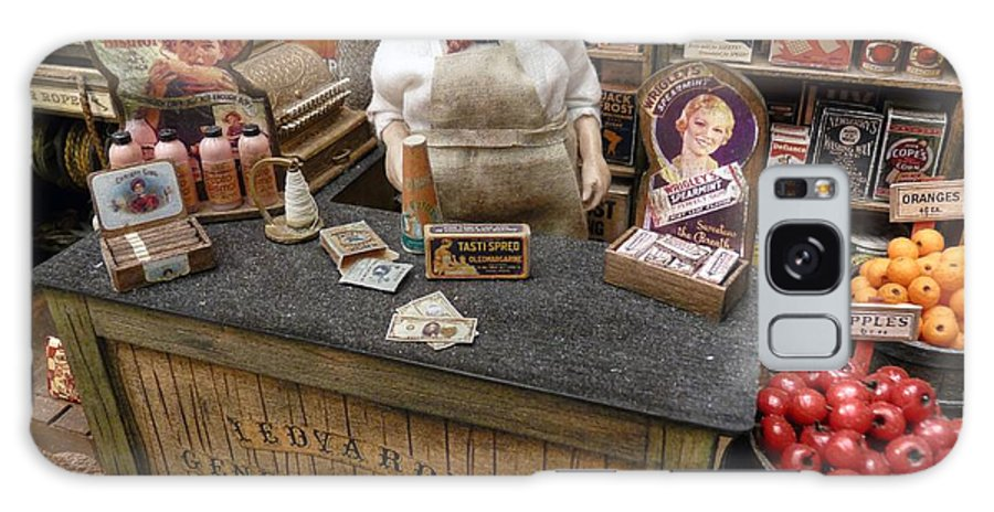 General Store Galaxy S8 Case featuring the photograph Ledyard's General Store by David Bearden