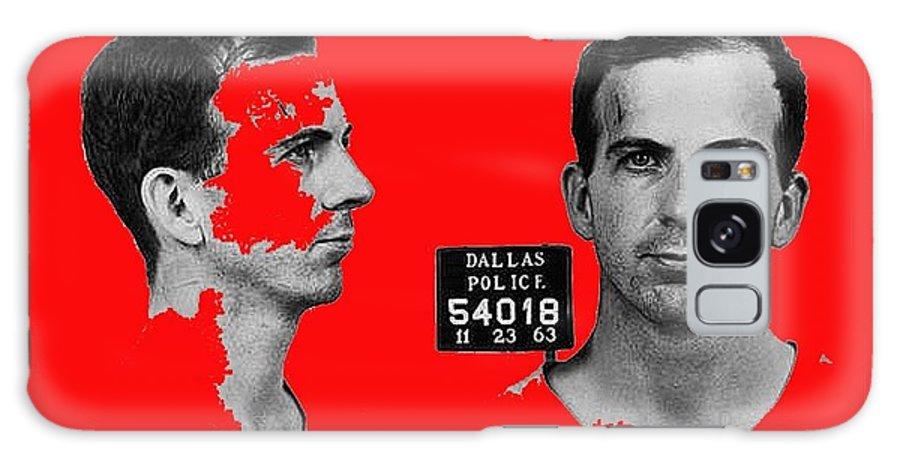 Lee Harvey Oswald's Mug Shot Dallas Texas November 23 1963 Galaxy S8 Case featuring the photograph Lee Harvey Oswald's Mug Shot Dallas Texas November 23 1963 by David Lee Guss