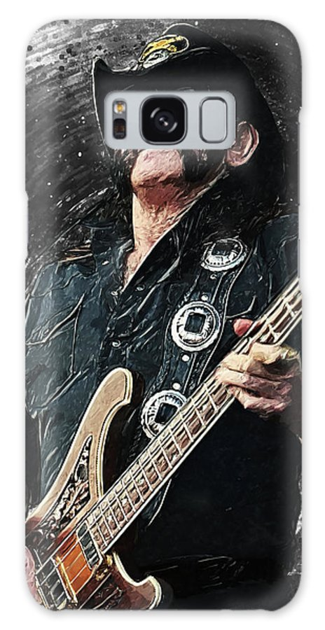 Lemmy Galaxy Case featuring the digital art Lemmy by Zapista OU