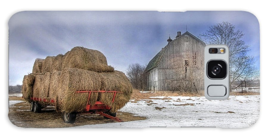 Old Barn Galaxy S8 Case featuring the photograph Let 'em Roll by Lori Deiter