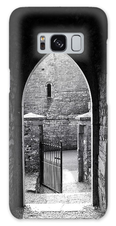 Irish Galaxy S8 Case featuring the photograph Let There Be Light Cong Church And Abbey Cong Ireland by Teresa Mucha