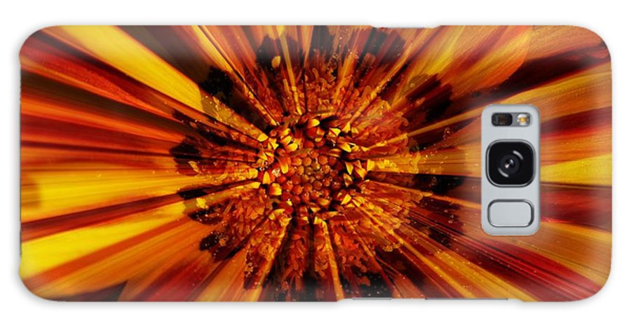 Nature Abstract Galaxy S8 Case featuring the photograph Let Your Light Shine by Carol Groenen