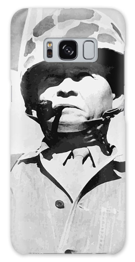 Chesty Puller Galaxy S8 Case featuring the painting Lewis Chesty Puller by War Is Hell Store