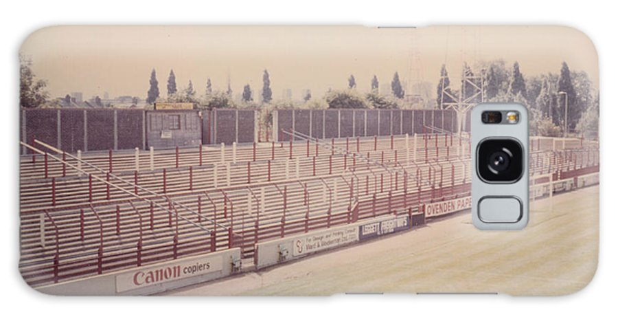 Galaxy S8 Case featuring the photograph Leyton Orient - Brisbane Road - Buckingham Road Terrace South Goal 1 - August 1986 by Legendary Football Grounds