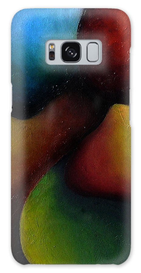 Fruit Galaxy Case featuring the painting Life's Fruit by Elizabeth Lisy Figueroa