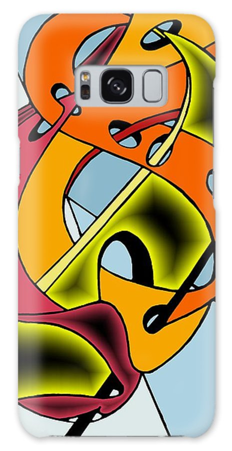 Lifeways Galaxy S8 Case featuring the digital art Lifeways by Helmut Rottler