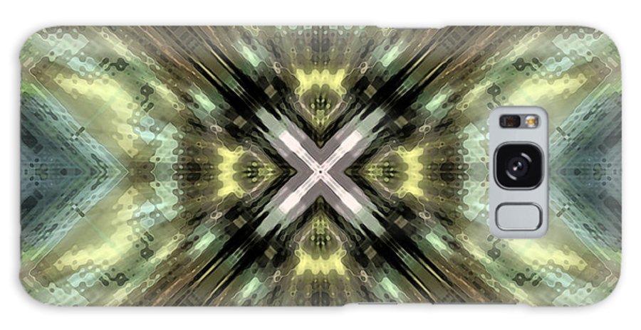 X Galaxy S8 Case featuring the digital art Liftoff by Shawn McCoy