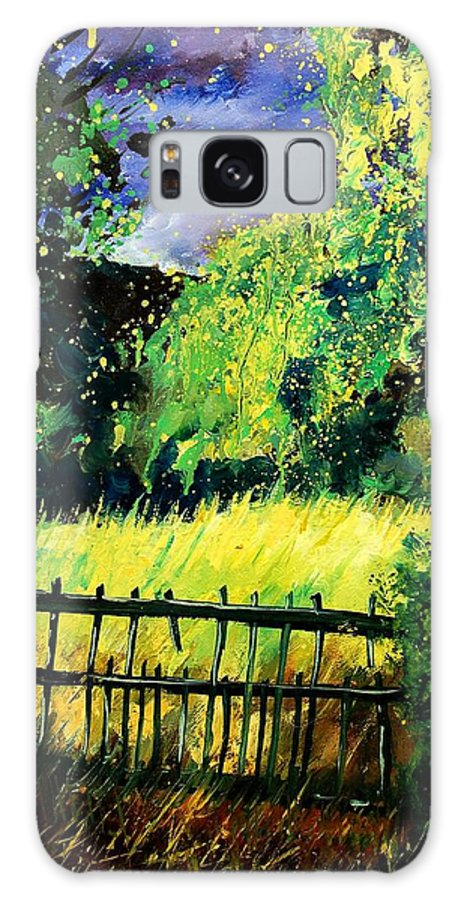 Spring Galaxy Case featuring the painting Light Before The Storm by Pol Ledent