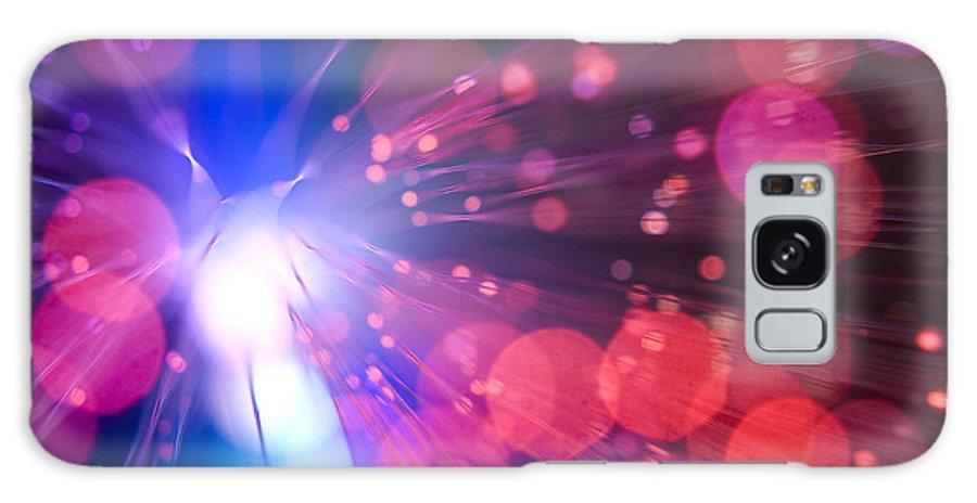 Light Galaxy S8 Case featuring the photograph Light Burst-2 by Steve Somerville