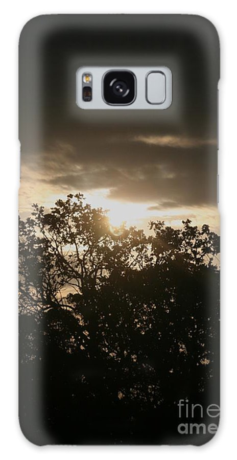 Light Galaxy Case featuring the photograph Light Chasing Away The Darkness by Nadine Rippelmeyer