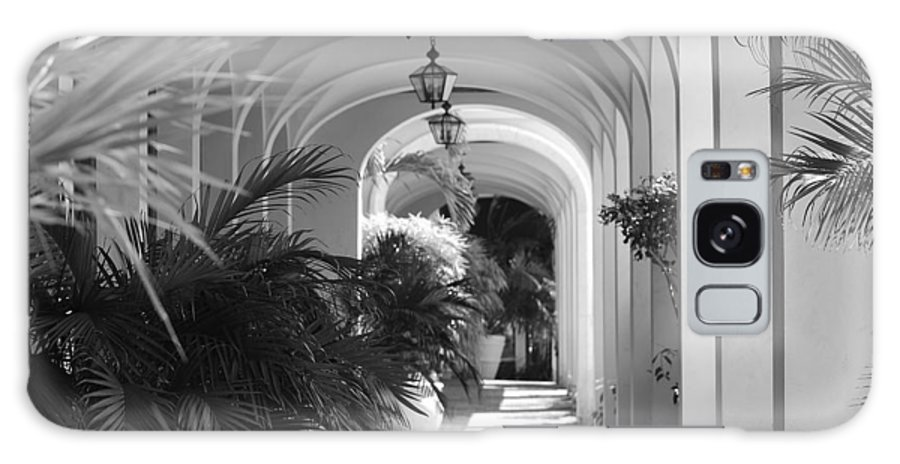 Architecture Galaxy Case featuring the photograph Lighted Arches by Rob Hans