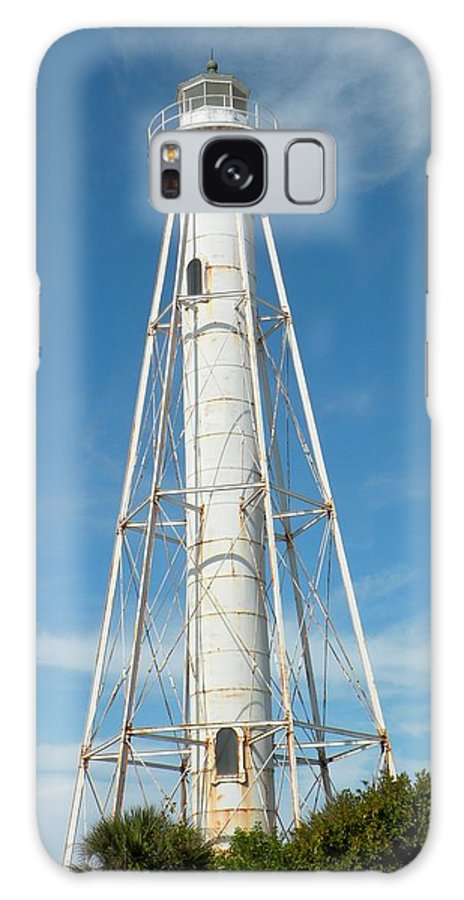 Lighthouse Galaxy S8 Case featuring the photograph Lighthouse At Boca Grande by Rosalie Scanlon
