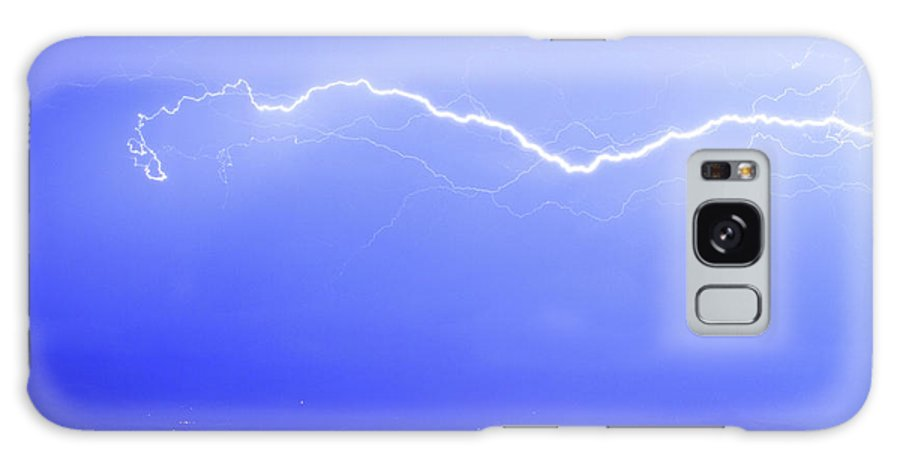 Lightning Galaxy S8 Case featuring the photograph Lightning Over North Boulder Colorado Poster Sp by James BO Insogna