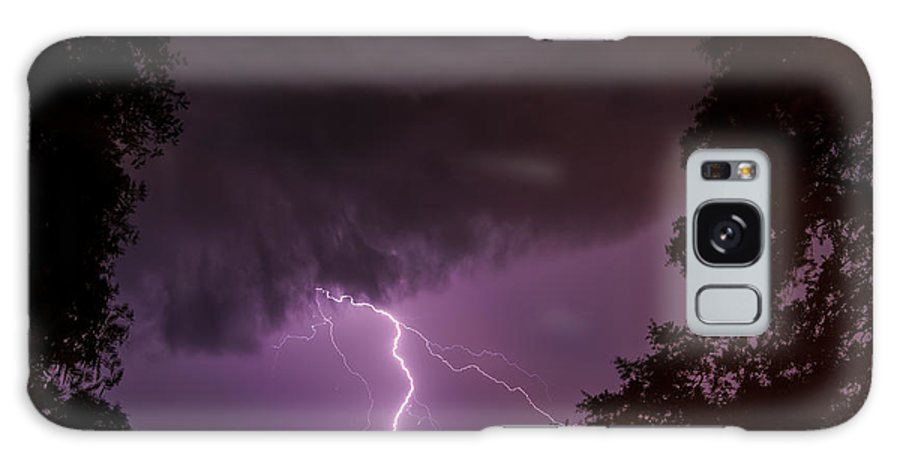 Lightning Galaxy S8 Case featuring the photograph Lightning by Terry Shoemaker