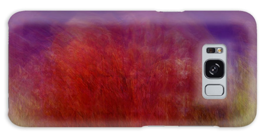 Abstract Art Galaxy S8 Case featuring the digital art Like A Dream by Linda Sannuti