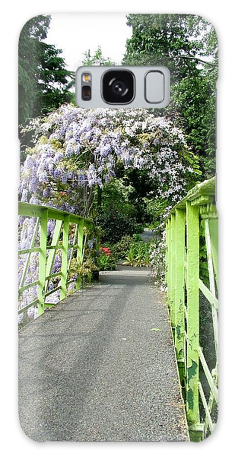Bridge Galaxy S8 Case featuring the photograph Lilac Colour Crossing by Martina Fagan
