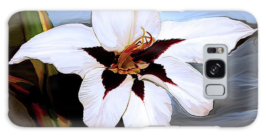 Fine Art Print Galaxy S8 Case featuring the painting Lily I by Patricia Griffin Brett