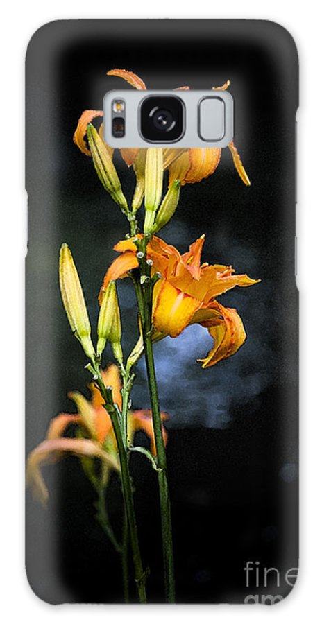 Lily Monet Garden Flora Galaxy S8 Case featuring the photograph Lily In Monets Garden by Sheila Smart Fine Art Photography