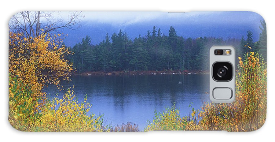 New Hampshire Galaxy S8 Case featuring the photograph Lily Pond Autumn Kancamagus Highway by John Burk