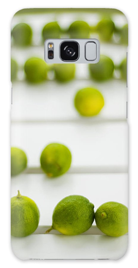 Green Galaxy Case featuring the photograph Lime Green by Skip Hunt