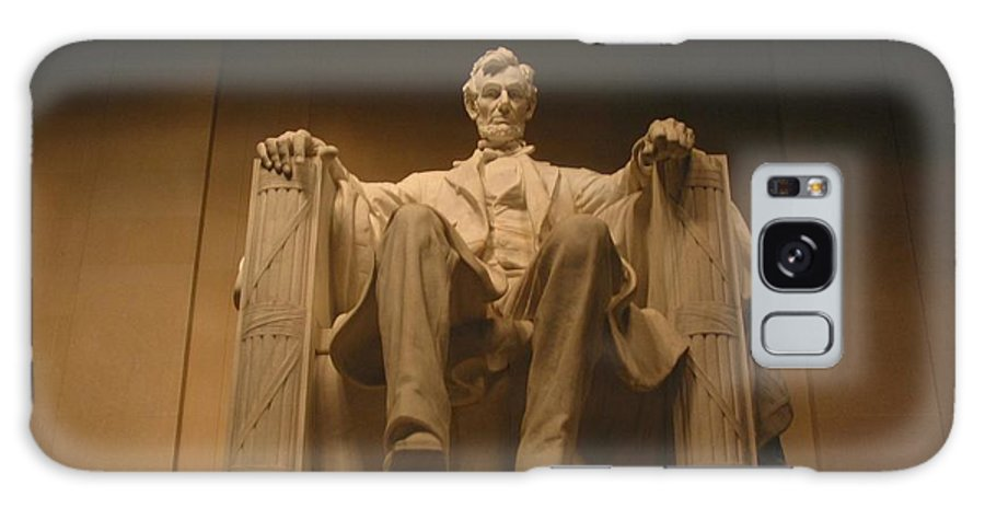 Abraham Lincoln Galaxy Case featuring the photograph Lincoln Memorial by Brian McDunn