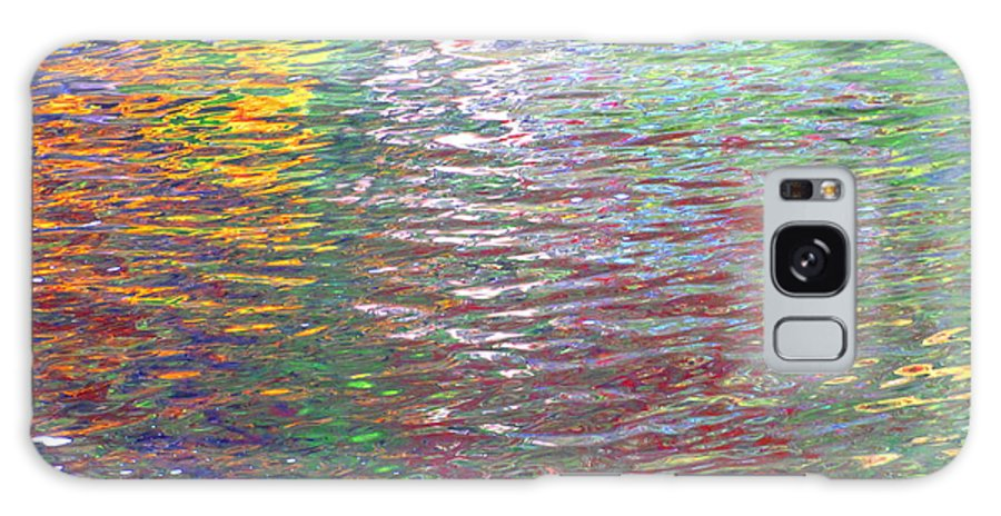Water Art Galaxy S8 Case featuring the photograph Linearized Light by Sybil Staples