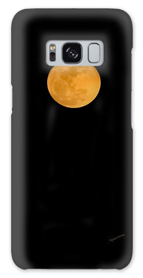 Lunar Galaxy S8 Case featuring the digital art Linten Moon by DigiArt Diaries by Vicky B Fuller