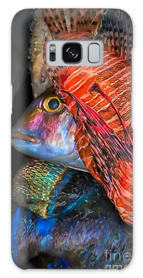 Ocean Galaxy S8 Case featuring the photograph Lion Fish by Jacqueline Sue Photography