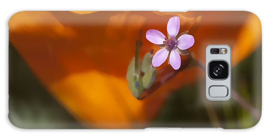 Wildflower Galaxy S8 Case featuring the digital art Little Beauty by Sharon Foster