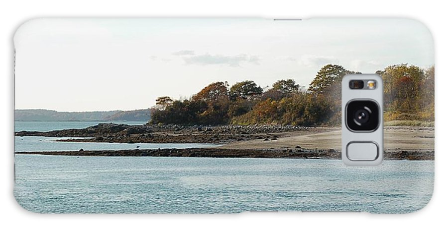 Island Galaxy S8 Case featuring the photograph Little Chebeague Beach by Faith Harron Boudreau