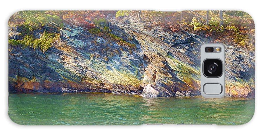 Little Diamond Island Galaxy Case featuring the photograph Little Diamond Island Springtime by Faith Harron Boudreau