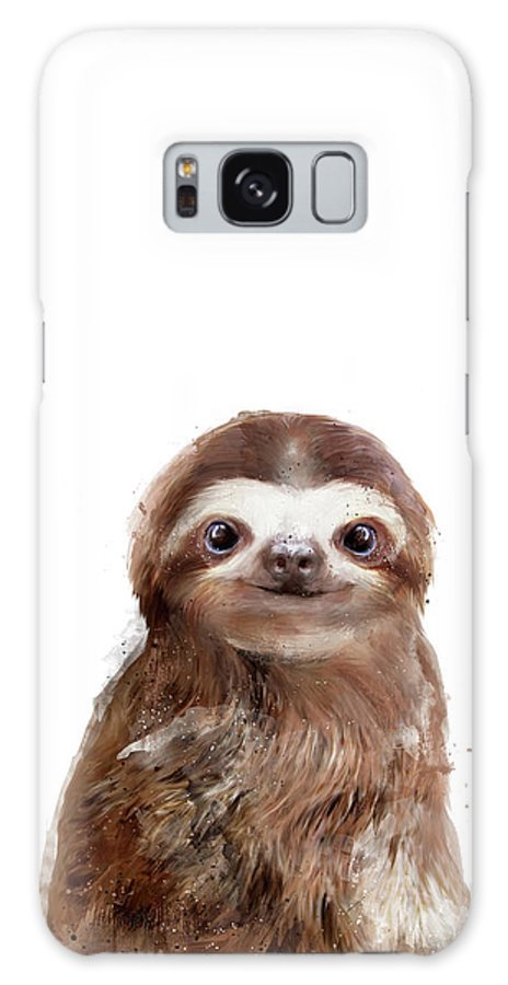 Sloth Galaxy Case featuring the painting Little Sloth by Amy Hamilton